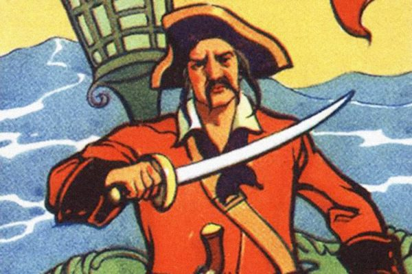 """Captain Misson, described by Captain Charles Johnson as the founder of a fictional """"pirate utopia"""" called Libertalia or Libertatia."""