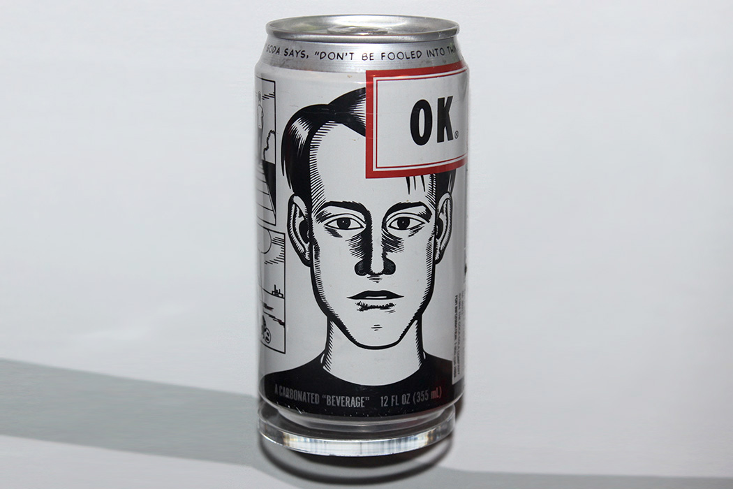 OK Soda can