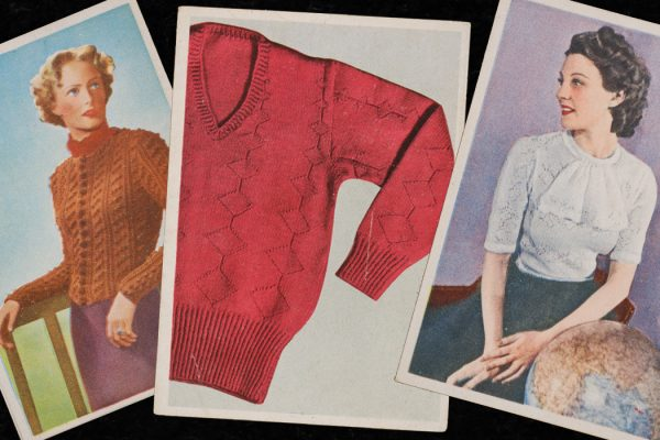 Women's fashion catalogue images from the 1930s