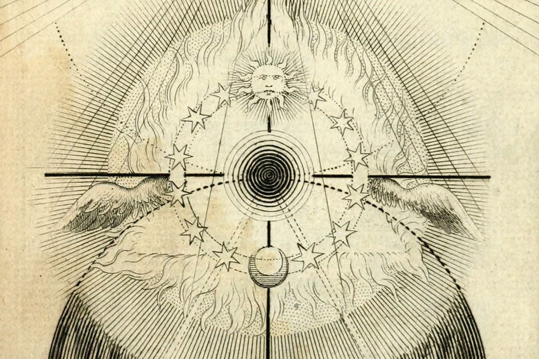 An illustration from a 17th century German theosophical text