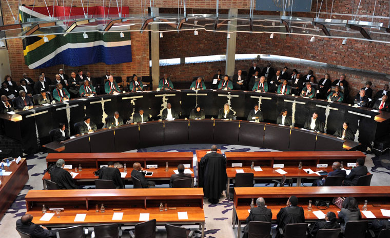 The Constitutional Court of South Africa honours former Chief Justice Pius Langa, August, 2013