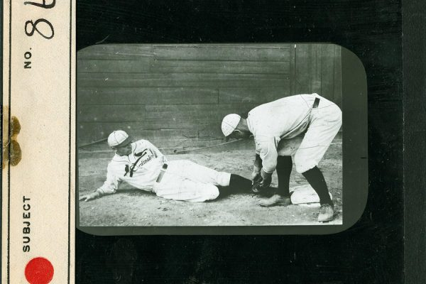 Jack Smith, an outfielder for the St. Louis Cardinals and Del Gainer, a first baseman for the St. Louis Cardinals