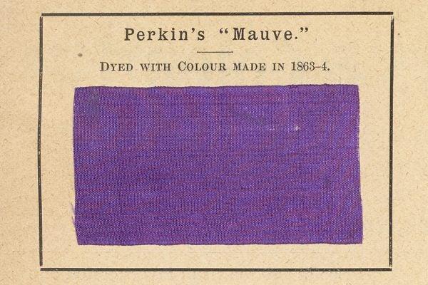 Sample of Perkin's Mauve