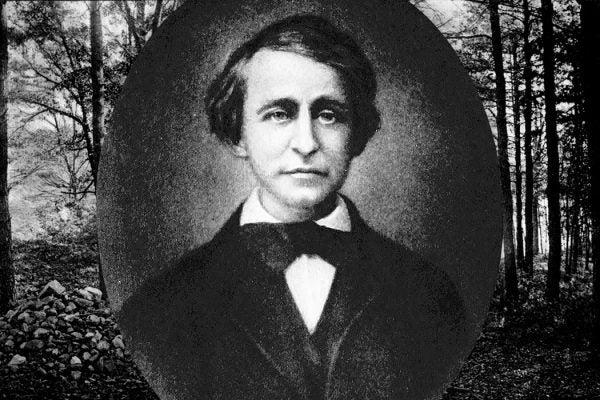 Thoreau as a Young Man