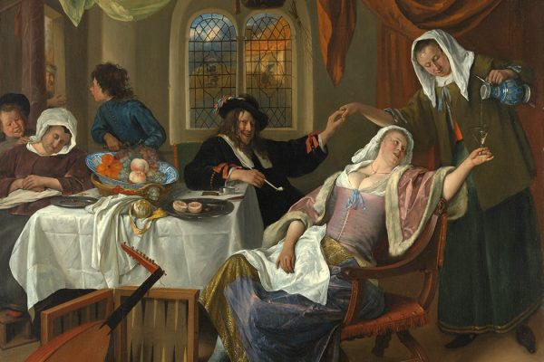 The Dissolute Household by Jan Steen, ca. 1663-64