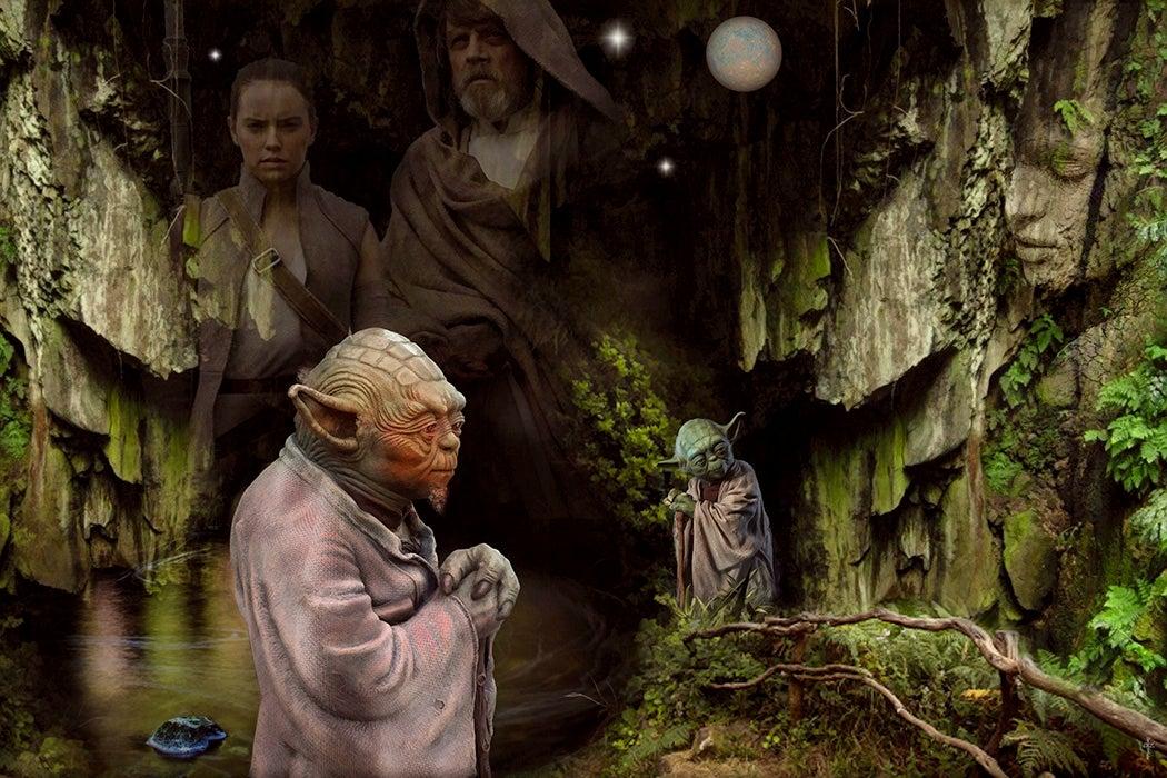 A Star Wars artwork