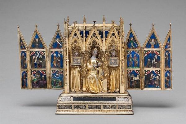 A reliquary shrine attributed to Jean de Touyl, ca. 1325-50